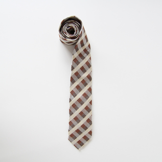 Tie Red Brown