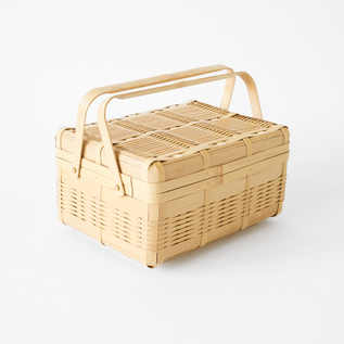 Kagoshima Prefecture Shiratake bento basket with one step