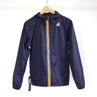 WOMEN PACKABLE WINDBREAKER BLUE DEPHT