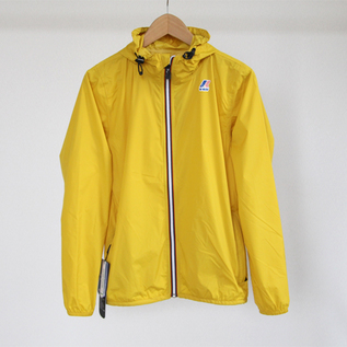 UNISEX PACKABLE WINDBREAKER YELLOW MUSTARD