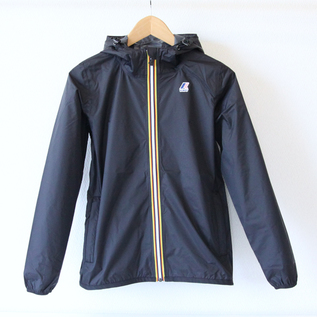 WOMEN Packable Windbreaker Black