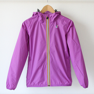 WOMEN Packable windbreaker Violet