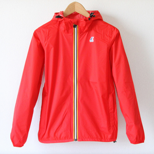 WOMEN Packable windbreaker Red