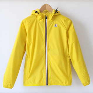 WOMEN Packable Windbreaker Yellow Mustard