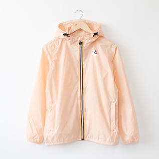WOMEN PACKABLE WINDBREAKER PINK PEACH