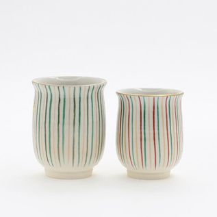 PAIRED TEA CUP STRIPES