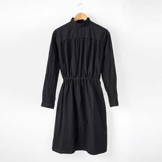Back Open Smock Dress