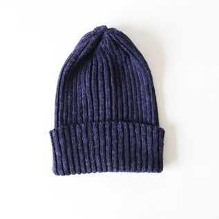 Cotton linen cap NAVY