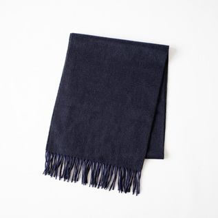 STOLE ARRAN SEMI REVERSIBLE Navy CHARCOAL