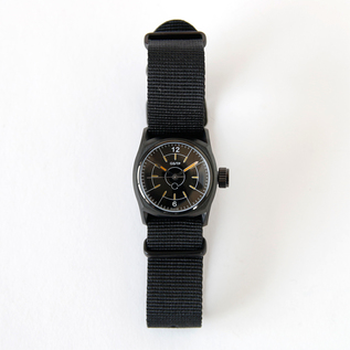 Hand-wound watch  black dial MMD02B