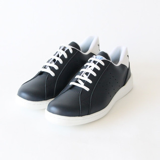 スニーカー Tenis leather Marino