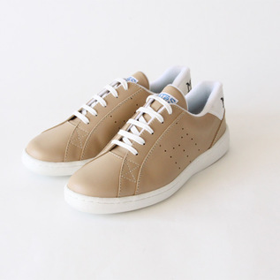 スニーカー Tenis leather Beig