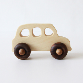 Wooden toy Taxi Car