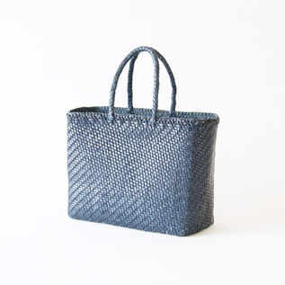 Leather mesh bag Big Marin