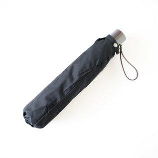 MIRATORE FOLDING UMBRELLA FOR MEN BLACK