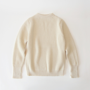 セーラーセーター THE NAVY CREWNECK offwhite