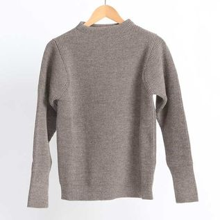 THE NAVY Crewneck  Natural Taupe