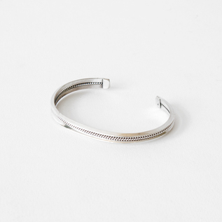 STERLING SILVER BANGLE SLIM H