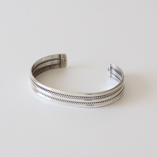 STERLING SILVER BANGLE WIDE SBW2