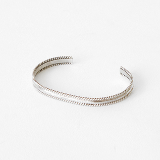 STERLING SILVER BANGLE SLIM G