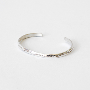 STERLING SILVER BANGLE SLIM N