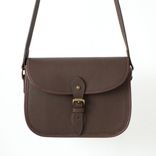 Fielding cartridge bag shoelether Brown