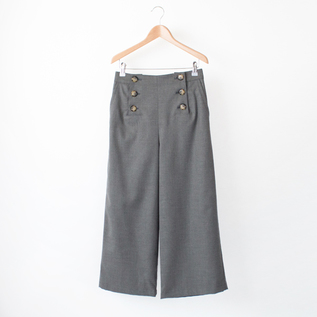 WOOL MARINE PANTS