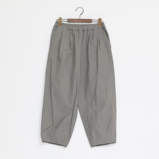 C L BACKSATIN PANTS GREY
