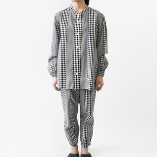 BESPOKE PAJAMAS  MIX GINGHAM CHECK