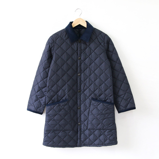 Quilted jacket NEW LIDDESDALE LONG NYLON NAVY