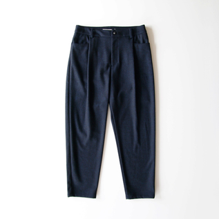 Double jacquard Tapered Pants