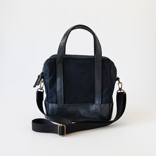 2way Square Bag Black