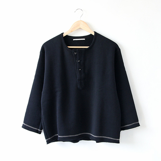 HENRY NECK FLEECE TOP