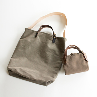NYLON 2WAY TOTE BAG