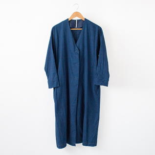 INDIGO SHIRTS GOWN