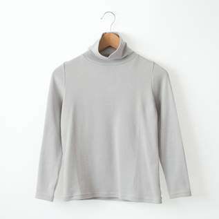 PANCAKE COTTON TURTLE NECK LONG SLEEVES