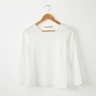 PANCAKE COTTON  CREW NECK LONG SLEEVES