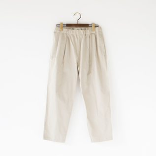 VINTAGE WASH STRETCH TUCK PANTS