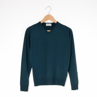 Men A3834 long-sleeved V-neck sweater