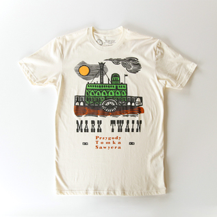 Tシャツ ADVENTURES OF TOM SAWYER「トム・ソーヤの冒険」-NATURAL