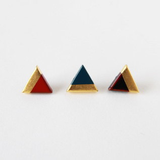 Urushi Pins triangular series