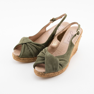Turban design espadrille sandals KA