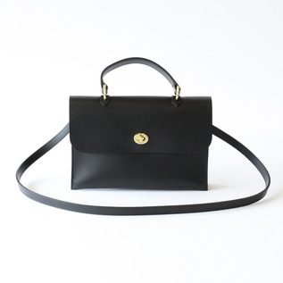 Leather Bag HEBE black