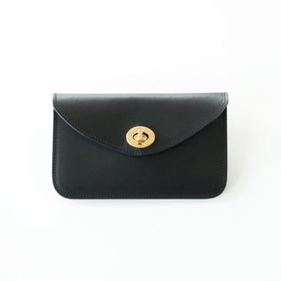 Leather Wallet  HILDA black