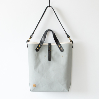 BESPOKE CANVAS BAG SCCF 007 BLACK-GREY
