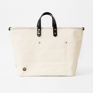 BESPOKE CANVAS BAG SCCF 002 SHORT HANDLE BLACK-MILK