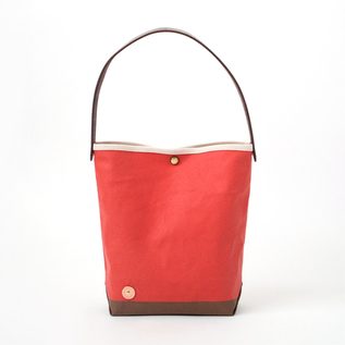 CANVAS ONE HANDLE BAG-S  BR.TOMATO.BROWN
