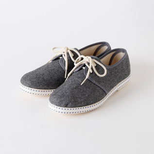 Bespoke Medical sneakers wool denim GREY