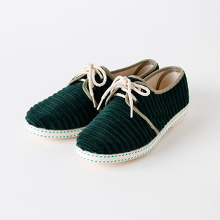 Bespoke Medical sneakers corduroy GREEN
