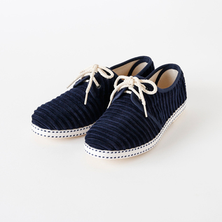 Bespoke Medical sneakers corduroy NAVY